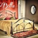 160x200 kovácsolt ágy keret  ( Bella), Bútor, Ágy, Kovácsoltvas,  Miért is jó a kovácsoltvas ágy?  1. A vas mint tudjuk szinte örök dolog .Nem nyekereg, nem mozog, ..., Meska
