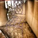 1.kovácsoltvas szék, Bútor, Szék, fotel, Fémmegmunkálás, kovácsoltvas szék. felületkezelt, többféle színben rendelhető. kinti-benti használatra.(párna nélkü..., Meska