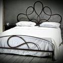 160x200 Kovácsolt ágykeret. , Bútor, Ágy, Kovácsoltvas,  Miért is jó a kovácsoltvas ágy?  1. A vas mint tudjuk szinte örök dolog .Nem nyekereg, nem mozog, ..., Meska