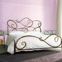 160x200( Verona ) ágykeret, Bútor, Ágy, Fémmegmunkálás, Kovácsoltvas,  Miért is jó a kovácsoltvas ágy?  1. A vas mint tudjuk szinte örök dolog .Nem nyekereg, nem mozog, ..., Meska