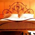 140x200  Ágykeret , Bútor, Ágy, Fémmegmunkálás, Kovácsoltvas,  Miért is jó a kovácsoltvas ágy?  1. A vas mint tudjuk szinte örök dolog .Nem nyekereg, nem mozog, ..., Meska