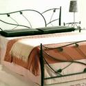 140x200 kovácsoltvas ágy keret, Bútor, Ágy, Fémmegmunkálás, Kovácsoltvas,   Miért is jó a kovácsoltvas ágy?  1. A vas mint tudjuk szinte örök dolog .Nem nyekereg, nem mozog,..., Meska