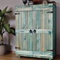 Rusztikus szekrényke, Otthon & Lakás, Bútor, Szekrény, Famegmunkálás, Rendelhető a képeken látható 3 polcos kis szekrényke, akár más méretben és színben! Méretek: Magass..., Meska