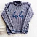 Férfi pulóver szám felirattal, Baba-mama-gyerek, Ruha, divat, cipő, Férfi pulcsi szám felirattal. Kérhető bármilyen számmal, bármilyen színben és méretben.  K..., Meska
