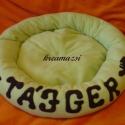 cicaágy - Lilaou  és Tájger részére, Ezt az ágyikót Lilaou kérésére készítettem,...