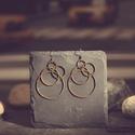 Bakelit fülbevaló antik arany -BK025, Igazán egyedi ékszer, a bakelit ékszer. Nálam ...
