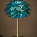 Lótuszvirág éjjeli lámpa, Fából készült lámpa, csodálatos hangulatfén...
