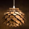 Lótuszvirág fa lámpa , Egyedi lótusz virág FA függő, igazi gyöngysze...