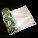Konyhai törlő szett - zöld mandalás, A konyhai törlő szett a papírtörlőt hivatott ...
