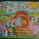 A4-es kép évzárós ajándék pedagógusnak, ballagási emlék tabló Kemencés, Dekoráció, Magyar motívumokkal, Dísz, Famegmunkálás, Festett tárgyak, FÁBA ÉGETETT, FESTETT termékekkel foglalkozom, mindenféle ünnepkörrel kapcsolatban. Munkáim általáb..., Meska