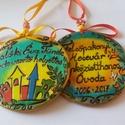 Ajándék kollégáknak, nyugdíjazási ajándék., Dekoráció, Mindenmás, Ünnepi dekoráció, Famegmunkálás, Festett tárgyak, Megrendelésre készül, a vásárló elképzelései szerint:-) A képen egy adott intézmény logóját használ..., Meska