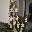 karácsonyfadísz055, Dekoráció, Ünnepi dekoráció, Karácsonyi, adventi apróságok, Karácsonyfadísz, Famegmunkálás, 3 mm vastag rétegelt fából készült függeszthető, igény szerint színre festhető vagy fújható, 4,5 cm..., Meska