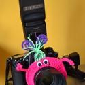 Objektívre húzható gyűrű fotózáshoz, Baba-mama-gyerek, Képzőművészet, Baba-mama kellék, Fotográfia, Horgolás, Bohókás Obi gyűrűk:  Teljesen rugalmasak, így többféle objektívre is könnyedén fel lehet húzni őket..., Meska
