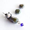 KAGAYAKI, lámpagyöngy gésa medál fülbevalóval , Saját készítésű lámpagyöngyökből készül...