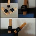 Üzenő csipeszek 3 db/csomag, Otthon, lakberendezés, Dekoráció, Férfiaknak, Legénylakás, Mindenmás, Ez az asztali klaviatúra billentyűinek újrahasznosításával készült ajándéktárgy poénos eszköz lehet..., Meska