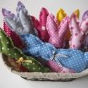 Egy kosárnyi húsvéti nyuszi (10 db) színes 3., Egy kosárnyi húsvéti nyuszi színes húsvéti s...