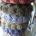Rózsakoszorúk megrendelésre, BlackTea megrendelésére hét különböző szín...