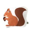 """Mókus ölelke párna, Baba-mama-gyerek, Varrás, Szublimációs technikával 100% poliészterből készült őszi kollekciós """"Little Woodland"""" mókus. Moshat..., Meska"""