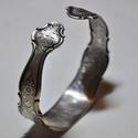 'Antique Bouquet' - antik fém karkötő régi konyhai eszközből (KK022), Antik konyhai eszközből készült fém karkötő...