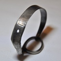 Antik olló fém karkötő (KK043), Antik vágóeszközből készíült különleges f...