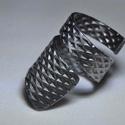 Elragadó rombuszok fém gyűrű (GY117)
