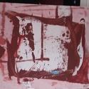 Kolontár, Képzőművészet, Festmény, Fa lapra,olajfestékkel készült alkotás.Mérete:57×44cm., Meska