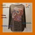 A modern Kelet..., Ruha, divat, cipő, Női ruha, Blúz, Felsőrész, póló, Refashion, avagy újragondolt divat!  Gondosan válogatott, kiváló minőségű alapdarabokat varázsoltam ..., Meska