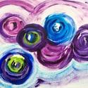 """""""Színes világ""""- festmény, Képzőművészet, Festmény, Akril, Napi festmény, kép, 24x32 cm-es akril festmény.  Eredeti, egyedi festmény, adott pillanat érzelmeit fejezi ki.  Másolat,..., Meska"""