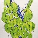 Tavaszra-várva-2 festmény, Képzőművészet, Dekoráció, Festmény, Akril, Festészet, 11x15  cm-es akril festmény.  Ecsettel és festőkéssel készült. Eredeti, egyedi festmény, adott pill..., Meska