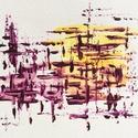 9/30 Napi festmény, Képzőművészet, Otthon, lakberendezés, Festmény, Napi festmény, kép, 11x15  cm-es akril festmény.  Ecsettel és festőkéssel készült. Eredeti, egyedi festmény, más..., Meska