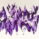 12/30 Napi festmény, Képzőművészet, Dekoráció, Festmény, Napi festmény, kép, 11x15  cm-es akril festmény.  Ecsettel és festőkéssel készült. Eredeti, egyedi festmény, más..., Meska