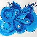 22/30 Napi festmény, Képzőművészet, Otthon, lakberendezés, Festmény, Napi festmény, kép, 12x15  cm-es akril festmény.  Ecsettel és festőkéssel készült. Eredeti, egyedi festmény, más..., Meska