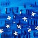 28/30 Napi festmény, Képzőművészet, Otthon, lakberendezés, Festmény, Napi festmény, kép, 12x15  cm-es akril festmény.  Ecsettel és festőkéssel készült. Eredeti, egyedi festmény, másolat, ny..., Meska