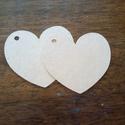 Kézzel vágott ajándékkisérő, esküvőre köszönetajándékhoz, Kreatív kartonból, kézzel vágott címke (üres...