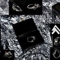 Swah, Ékszer, Gyűrű, Au 585 ~  0.08gramm Ag 925 ~ 9.85gramm Swarovski k. ~0.16 gramm Hordható gyűrűmėret ~5.6cm   + E..., Meska