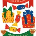 ABLAK MATRICA karácsonyi motívumokkal, Dekoráció, Ünnepi dekoráció, Karácsonyi, adventi apróságok, Karácsonyi dekoráció, Fotó, grafika, rajz, illusztráció, Díszítsd fel az otthonodat egyedi, vidám, karácsonyi motívumokkal!  Elsősorban üvegre és tükörre, d..., Meska
