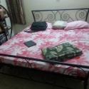 Kovácsoltvas ágy., Bútor, Otthon, lakberendezés, Ágy,   Megrendelhető a képen látható kézzel készített kovácsoltvas ágy, de egyedi elképzelés a..., Meska