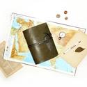 ' Indiana Jones ' Antik Bőr Napló, Naptár, képeslap, album, Jegyzetfüzet, napló, Bőrművesség, Könyvkötés, Antik stílust kedvelőknek!  Nőknek és Férfiaknak egyaránt ajánlom! Kiváló ajándék lehet vadászoknak..., Meska