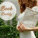 WOODY - Könyv Védő Tok - NAGYOBB MÉRET!!!, Táska, Pénztárca, tok, tárca, Ez a puha KÖNYV - ÖLELŐ megvédi a kedvenc olvasmányaidat!  Te is egy igazi könyvmoly vagy? Min..., Meska