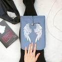 ANGYAL - Angelfall - Egyedileg festett Könyv Védő Tok, Könyvölelő, Könyvvászon, Táska, Pénztárca, tok, tárca, Ballagás, Ez a puha KÖNYV - ÖLELŐ megvédi a kedvenc olvasmányaidat!  Te is egy igazi könyvmoly vagy? Min..., Meska