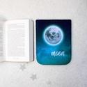 """HOLD - Könyv Védő Tok, Könyvölelő, Könyvvászon - VÁLASZTHATÓ MÉRET!, """" Célozd meg a Holdat! Még ha elhibázod is, a C..."""