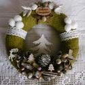 Klasszikus karácsonyi ajtódísz, A klasszikus karácsonyi dekorációk kedvelőinek...
