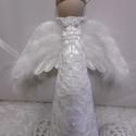 Horgolt angyal csúcsdísz, Hófehér karácsony! ♡♡♡   Horgolt ruhába ...
