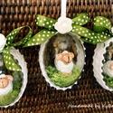 Legelésző báránykák - húsvéti bárány - húsvéti tojás báránykával - tojásba rejtett bárányka, Hímes tojás helyett - báránykás tojás! A hú...
