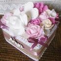 Anyák napja! - Anyák napi virágbox - vintage virágbox, Nemsokára anyák napja! Lepd meg édesanyád  ezz...