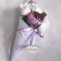 Anyák napja! - anyák napi virágtölcsér - anyák napjára - vintage virágtölcsér, Nemsokára anyák napja!  Kedvenc virágommal, az ...