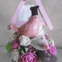 Madárfüttyös ballagás! Vidám ballagási ajándék - ballagó madárkák - ballagásra, Dekoráció, Otthon, lakberendezés, Dísz, Asztaldísz, Vidám, vintage hangulatú ballagási dekoráció, ajándék kicsiknek, nagyoknak!  Választható színek: róz..., Meska