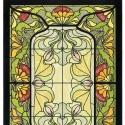 Díszüveg, Otthon, lakberendezés, Antik stílusú üvegkép. A festékréteget beleégetem az üvegbe, ez tartós, időtálló nyomato..., Meska