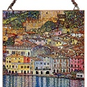 Gustav Klimt - Garda tó látképe