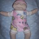 Különleges, rózsaszín szemű, Brigi baba!, Játék, Baba, babaház, Szia! Eredetileg Brigi baba vagyok, de Te adj  nekem olyan nevet, amilyet szeretnél!   Kb. 43-45 cm..., Meska